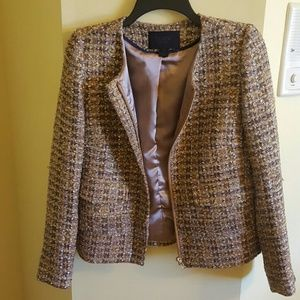 RARE J.crew lady jacket in gold